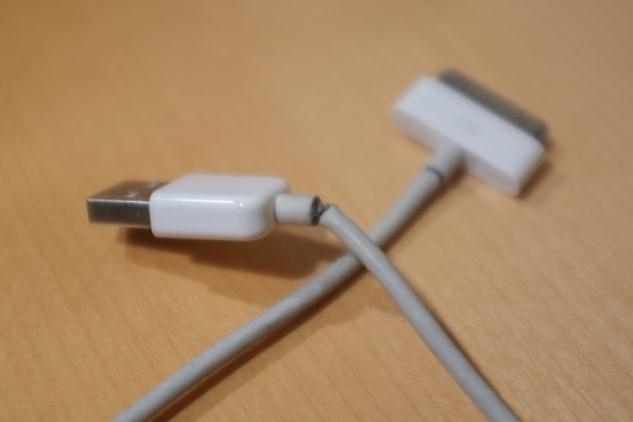 Нарушение целостности провода